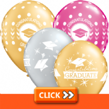 Graduation Latex Balloons